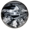 "Candlepin Paramount Marbleized Bowling Ball 4.5""- Black/White/Grey"