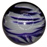 "Candlepin Paramount Marbleized Bowling Ball 4.5""- Purple/Grey/White"