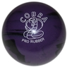 "Candlepin Cobra Pro Rubber Bowling Ball 4.5""- Purple/Black"