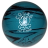 "Candlepin Cobra Pro Rubber Bowling Ball 4.5""- Teal/Black"