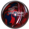 "Candlepin EPCO Urethane Bowling Ball 4.5""- Dark Red/Royal/White"