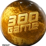 300 Game Award Bowling Ball - Gold