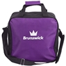 Brunswick T-Zone Single Tote Bowling Bag- Purple
