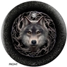 Anne Stokes Wolves/Night Forest Bowling Ball