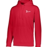 Track Wicking Fleece Hooded Sweatshirt