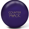 Radical Counter Attack Solid PRE-DRILLED Bowling Ball- Purple Solid