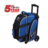 KR Fast Double Roller Bowling Bag- Royal/Black