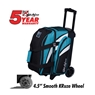 KR Cruiser Double Roller Bowling Bag- Teal