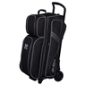 KR Lane Rover 3 Ball Sport Triple Roller Bowling Bag- Black