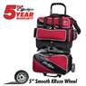KR Fast 4-Ball Bowling Bag - Brick Red/Black