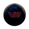 Ebonite Vortex V2 Bowling Ball - Black/Blue