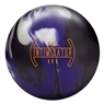 DV8 Intimidator Bowling Ball - Black/Purple/White