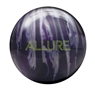 Ebonite Allure Bowling Ball - Purple/Silver