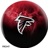 Atlanta Falcons NFL On Fire Bowling Ball