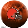 Cleveland Browns NFL On Fire Bowling Ball