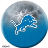 Detroit Lions NFL On Fire Bowling Ball