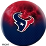 Houston Texans NFL On Fire Bowling Ball
