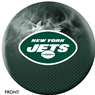 New York Jets NFL On Fire Bowling Ball
