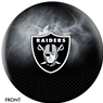 Oakland Raiders NFL On Fire Bowling Ball