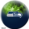 Seattle Seahawks NFL On Fire Bowling Ball