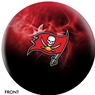 Tampa Bay Buccaneers NFL On Fire Bowling Ball