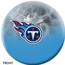 Tennessee Titans NFL On Fire Bowling Ball