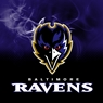 Baltimore Ravens NFL On Fire Towel