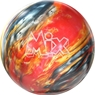 Storm Mix Bowling Ball- Red/Gold/Silver