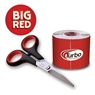 Turbo Big Red Fitting Tape- 2 inch Wide Roll