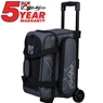 KR Hybrid Double Roller Bowling Bag- Charcoal