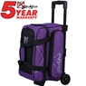 KR Hybrid Double Roller Bowling Bag- Purple