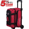KR Hybrid Double Roller Bowling Bag- Red