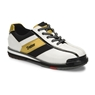 Dexter Mens SST 8 Pro Bowling Shoes- White/Black/Gold