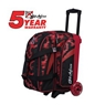 KR Cruiser Scratch Double Roller Bowling Bag - Red