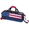 KR Krush Slim Triple Roller Bowling Bag - Dye Sub American Flag