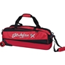 KR Strikeforce Fast Slim Triple Bowling Bag- Red