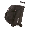 KR Eliminator 2 Ball Roller Bowling Bag- Black