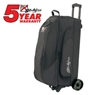 KR Cruiser Triple Roller Bowling Bag- Black