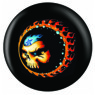 Flaming Skull Ball