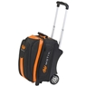 MOTIV Double Roller Bowling Bag- Black/Orange