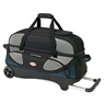 Columbia Pro Series 3 Ball Roller Bowling Bag- Blue/Silver