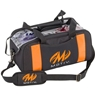 MOTIV Double Clear Top Tote Bowling Bag- Black/Orange
