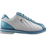 3G Ladies Kicks White/Blue Bowling Shoes