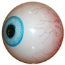 Clear Eye Ball Bowling Ball