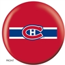 Montreal Canadiens NHL Bowling Ball