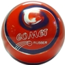 Comet Rubber Candlepin Bowling Ball- Orange/Purple/White