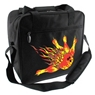 Bowlerstore Flame Logo Bowling Bag- Black/Orange/Yellow