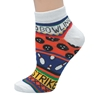 Ladies Bowling Theme Socks Orange by Master