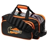 Hammer Double Tote Bowling Bag- Black/Orange