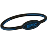 EFX Silicone Oval Wristband- Black/Blue